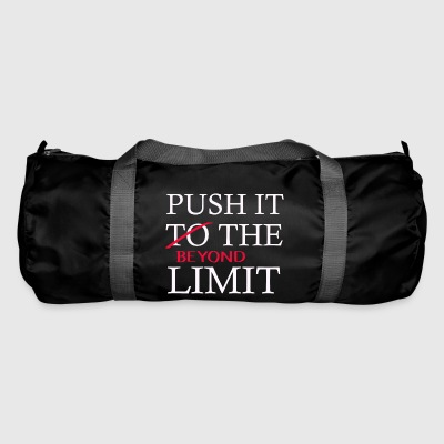 Push It Beyond the Limit - Torba sportowa