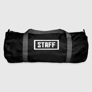 Staff stamp white - Duffel Bag