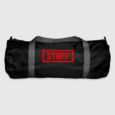 Staff stamp red - Duffel Bag