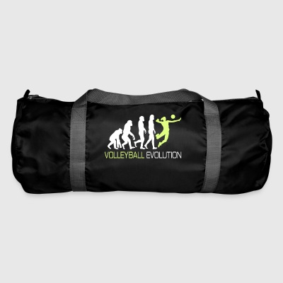 Evolution - Volleyball T-Shirt Wife Gift - Duffel Bag