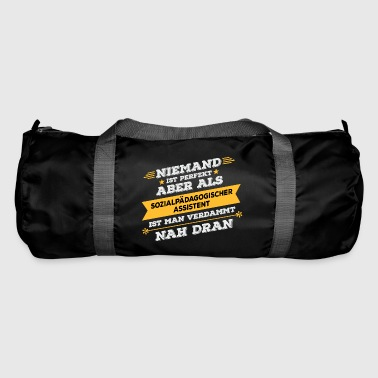 Social educational assistant Professional gift - Duffel Bag