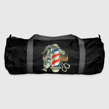 Cool Barber Tools. Gifts for Barber, Stylist Salon - Duffel Bag