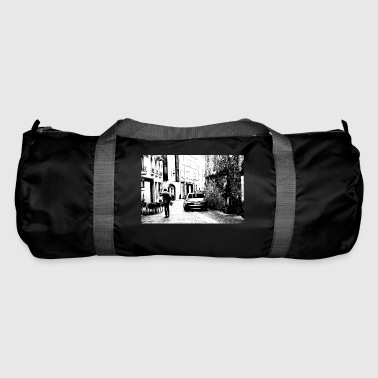 France Black and white - Duffel Bag