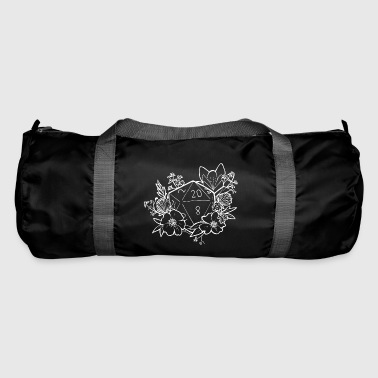 DUNGEONS 'n' FLOWERS - WHITE - Duffel Bag