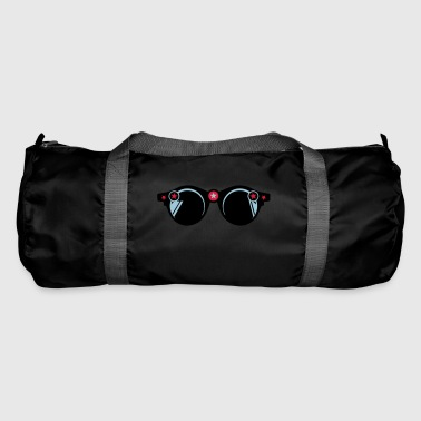 round sunglasses star 401 - Duffel Bag