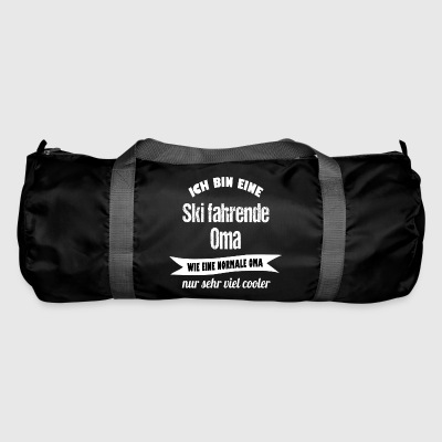 Skiing grandma - Duffel Bag