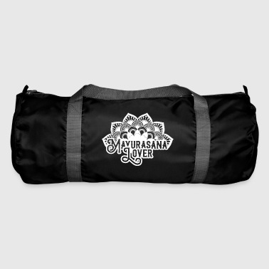 Mayurasana Lover / Yoga -white- - Duffel Bag