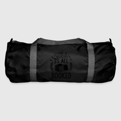 BOOKS BOOK BOOKWORM: IS ​​ALL BOOKED POISON - Duffel Bag