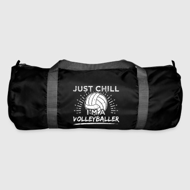 Funny Volleyball Player skjorte Just Chill - Sportsbag