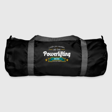 Powerlifting Mom Mom Shirt Gift Idea - Duffel Bag