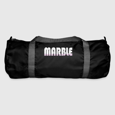 Marble Pink Word Fashion Fashion Trend Gift Idea - Duffel Bag