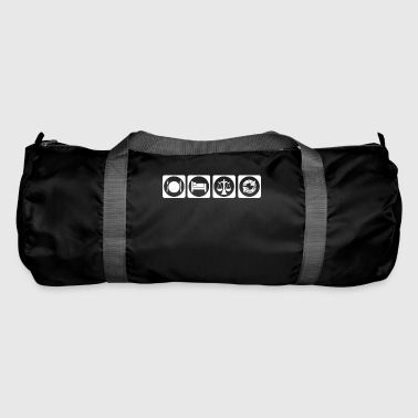 gift eat sleep repeat lawyer justice justice - Duffel Bag