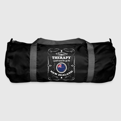 DON T NEED THERAPY WANT GO NEW ZEALAND - Duffel Bag