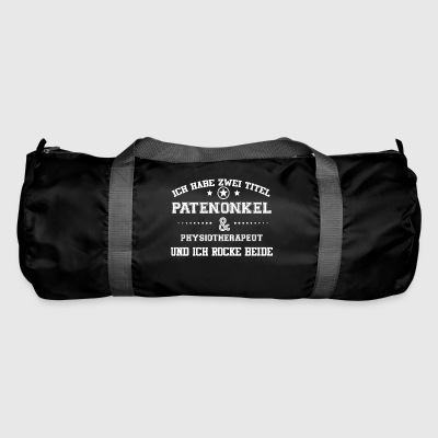 GIFT HAVE TITLE PATENONKEL Physiotherapist - Duffel Bag