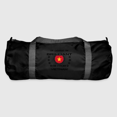 I AM GENIUS BRILLIANT CLEVER VIETNAM - Duffel Bag