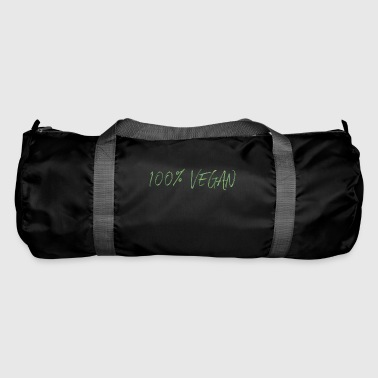 100% Vegan - Duffel Bag