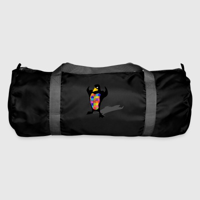 Penguin autism - Duffel Bag