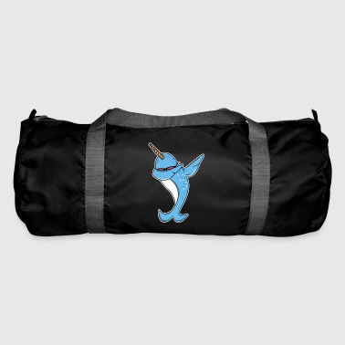 Funny Narwhal Dab - Duffel Bag
