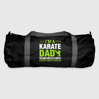 Gift for the Karate Father, Gift Karate Dad - Duffel Bag