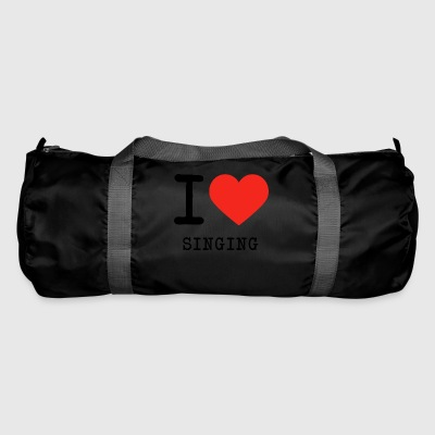 I love singing - Duffel Bag