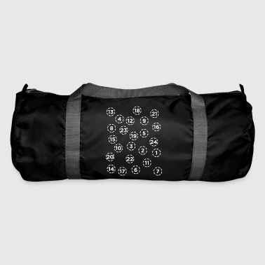 Advent Calendar Numbers Christmas Season Christian - Duffel Bag