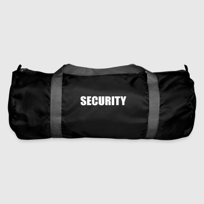 security security service portier typo officieel - Sporttas