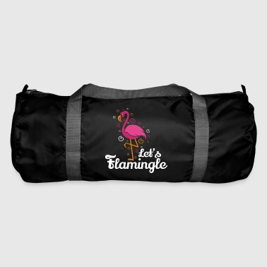 Załóżmy flamingle Flamingo Funny T-shirt prezent - Torba sportowa
