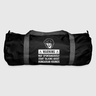 Funny Hungarian Hound Gift Idea - Duffel Bag