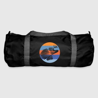 Indian Peacock Retro - Duffel Bag