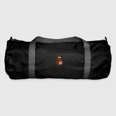 Get up to milk the almonds gift - Duffel Bag
