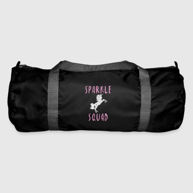 Sparkle Squad Unicorn Girl Gift Idea - Duffel Bag