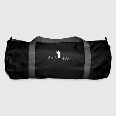 Heartbeat Soldier T-Shirt Gift Army Bundeswehr - Duffel Bag