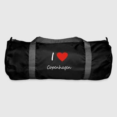 Copenhagen heart gift idea - Duffel Bag