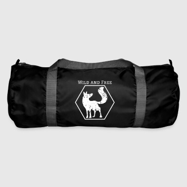 Wild and Free Fox Wild Animal Gift Idea Animal - Duffel Bag