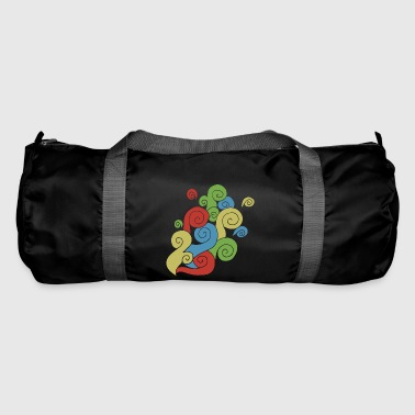 Bright Color Swirls - Duffel Bag