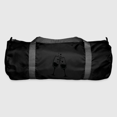 New Year's Eve - champagne glass - Duffel Bag