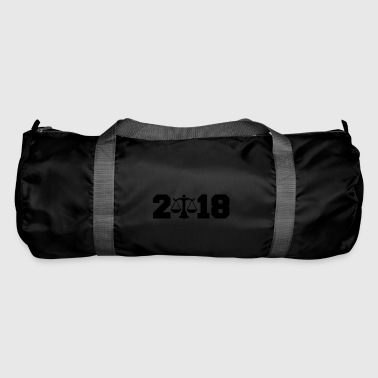 Gift 2018 New Year lawyer justice justice - Duffel Bag