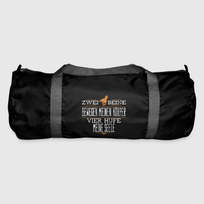 Horse T-Shirt Gift for rider and rider - Duffel Bag