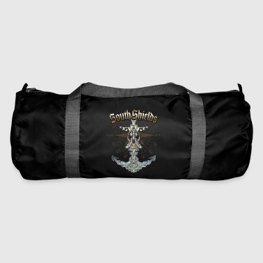South Shields Anchor Nautical Sailing Boat Summer - Duffel Bag
