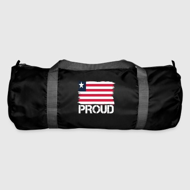 Pride flag flag home origin Liberia png - Duffel Bag