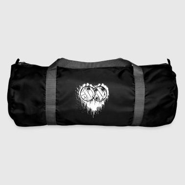 My heart beats for volleyball gift - Duffel Bag