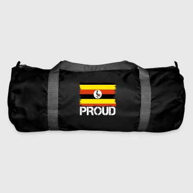 Pride flag flag home origin Uganda png - Duffel Bag
