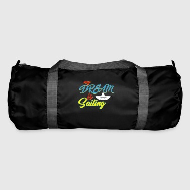Sailing - sailing ship - sailboat - Duffel Bag