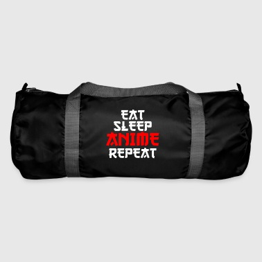 Eat Sleep Anime Repeat Cool Gift Birthday - Duffel Bag