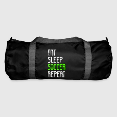EAT SLEEP SOCCER REPEAT - Sporttasche