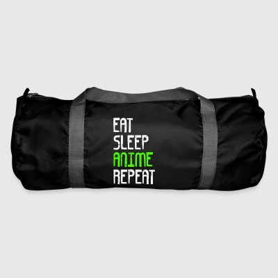 EAT SLEEP REPEAT ANIME - Sportstaske