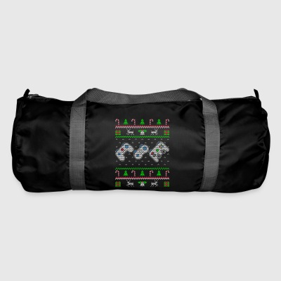 Gaming Ugly Christmas Sweater Gift - Duffel Bag