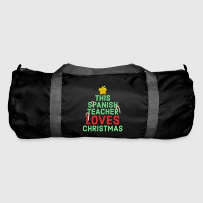 This Spanish Teacher Loves Christmas Winter Break - Duffel Bag