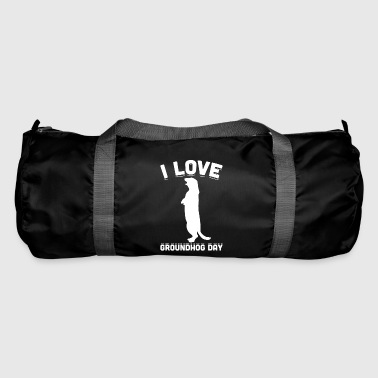 Jeg elsker Groundhog Day Tradition Celebration - Sportsbag