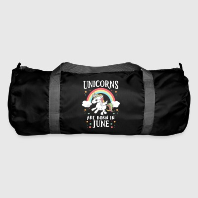 Unicorns Are Born In June - Sporttasche